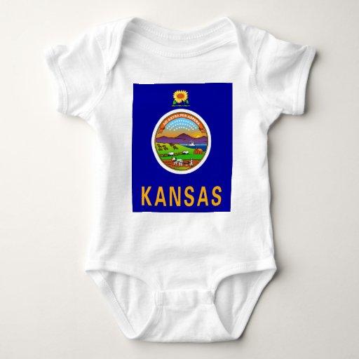Kansas Flag Infant Creeper