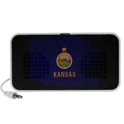 Kansas Flag iPhone Speaker