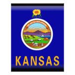 Kansas Flag Letterhead
