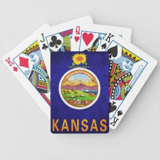 Kansas Flag Playing Cards