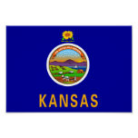 Kansas Flag Posters