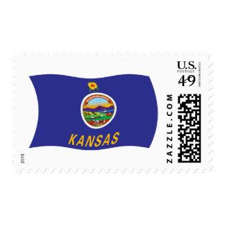 Kansas Flag Stamps