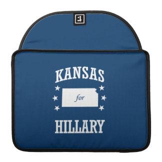 KANSAS FOR HILLARY MacBook PRO SLEEVES