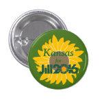 Kansas for Jill Stein Button