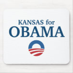 KANSAS for Obama custom your city personalized Mouse Pad