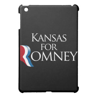 Kansas for Romney -.png Case For The iPad Mini