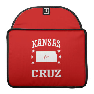 KANSAS FOR TED CRUZ SLEEVES FOR MacBook PRO