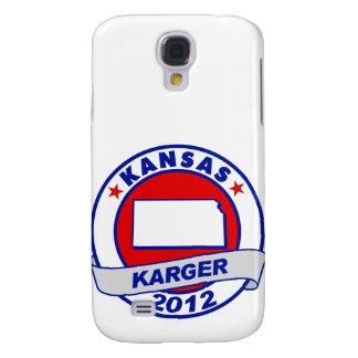 Kansas Fred Karger Galaxy S4 Cover