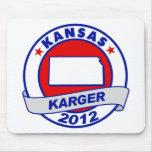 Kansas Fred Karger Mouse Pad
