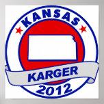 Kansas Fred Karger Print