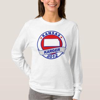 Kansas Fred Karger T-Shirt