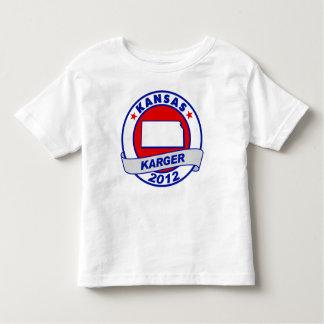 Kansas Fred Karger Toddler T-shirt