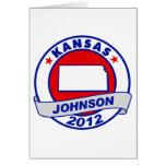 Kansas Gary Johnson Tarjeton