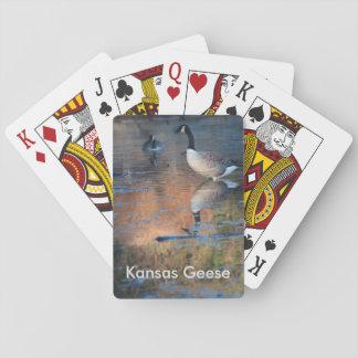 Kansas Geese Playing Card's Card Decks