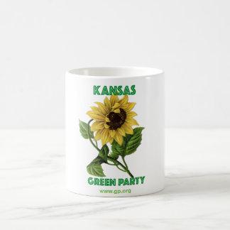 Kansas Green Party Coffee Mug