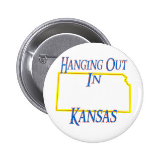 Kansas - Hanging Out Pinback Button