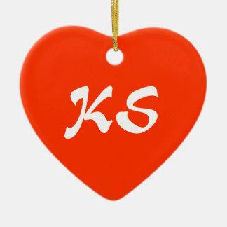 Kansas Heart Ornament