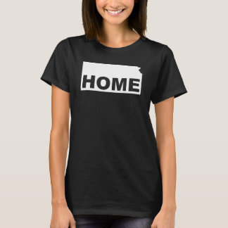 Kansas Home Away From State T-Shirt Tees