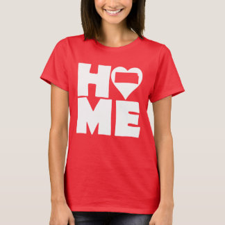 Kansas Home Heart State Tees T-Shirt