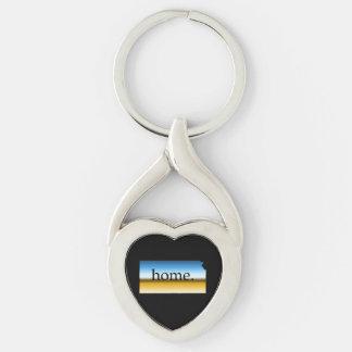 Kansas home Horizon Keychain