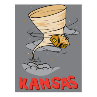 Kansas Hurricane Postcard