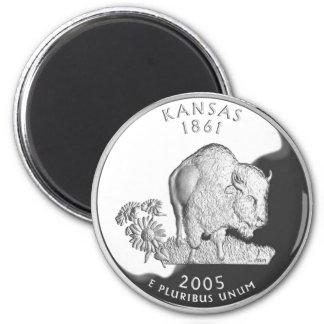 Kansas Imán Redondo 5 Cm