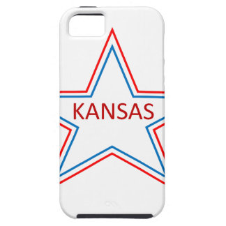 Kansas in a star. iPhone 5 case
