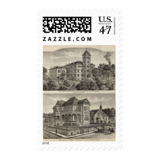 Kansas Institute for Education of the Blind Postage