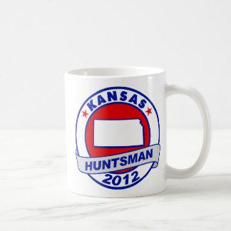 Kansas Jon Huntsman Classic White Coffee Mug