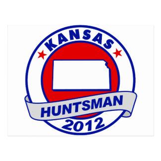 Kansas Jon Huntsman Postcard