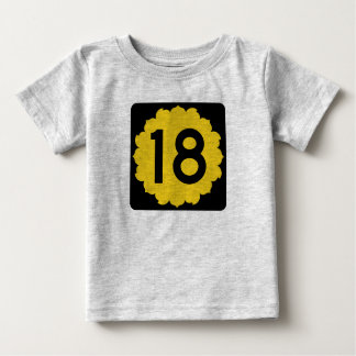 Kansas K-18 Baby T-Shirt