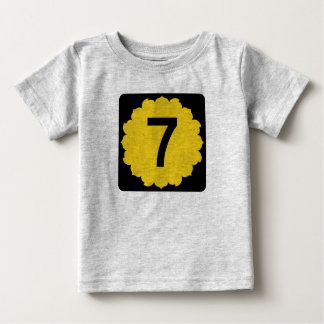 Kansas K-7 Baby T-Shirt