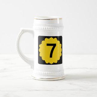 Kansas K-7 Beer Stein