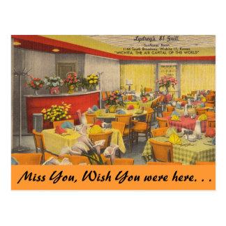 Kansas, la parrilla de Lydroy 81, Wichita Postales