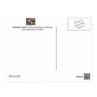 KANSAS LAKE S WILSON RESERVOIR POST CARD