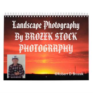 Kansas Landscape Photography CALENDAR
