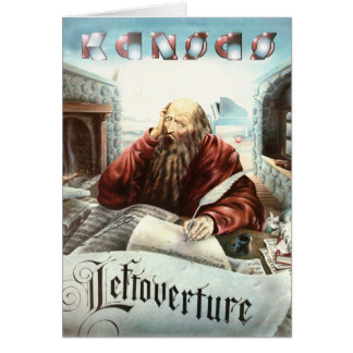 KANSAS - Leftoverture 1976 Card