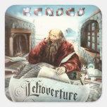 KANSAS - Leftoverture (1976) Calcomanía Cuadrada Personalizada