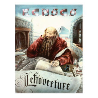 KANSAS - Leftoverture (1976) Postcard