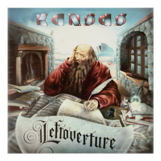 KANSAS - Leftoverture (1976) Poster