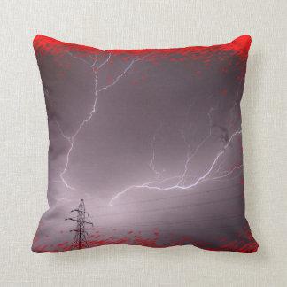 Kansas Lightning Storm  PILLOW