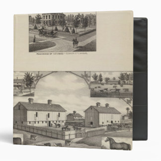 Kansas Live Stock County in Cawker City Binder