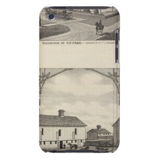 Kansas Live Stock County in Cawker City iPod Touch Case