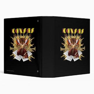 """KANSAS - logotipo de la sinfonía Carpeta 1 1/2"""""""