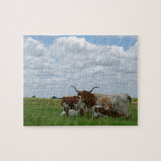 Kansas Longhorns Puzzle