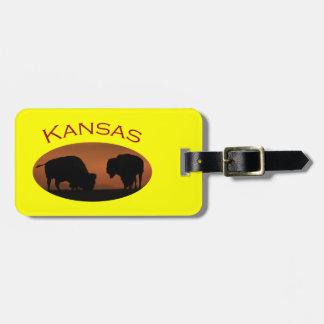 Kansas Luggage Tag