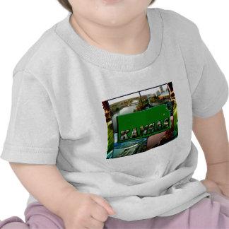 Kansas Map and Photos Shirts