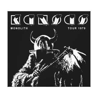 KANSAS - Monolith (1979) Stretched Canvas Prints