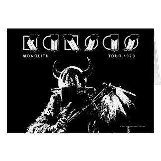 KANSAS - Monolith 1979 Greeting Card
