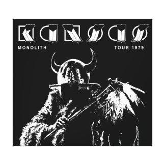 KANSAS - Monolith (1979) Impresiones En Lona